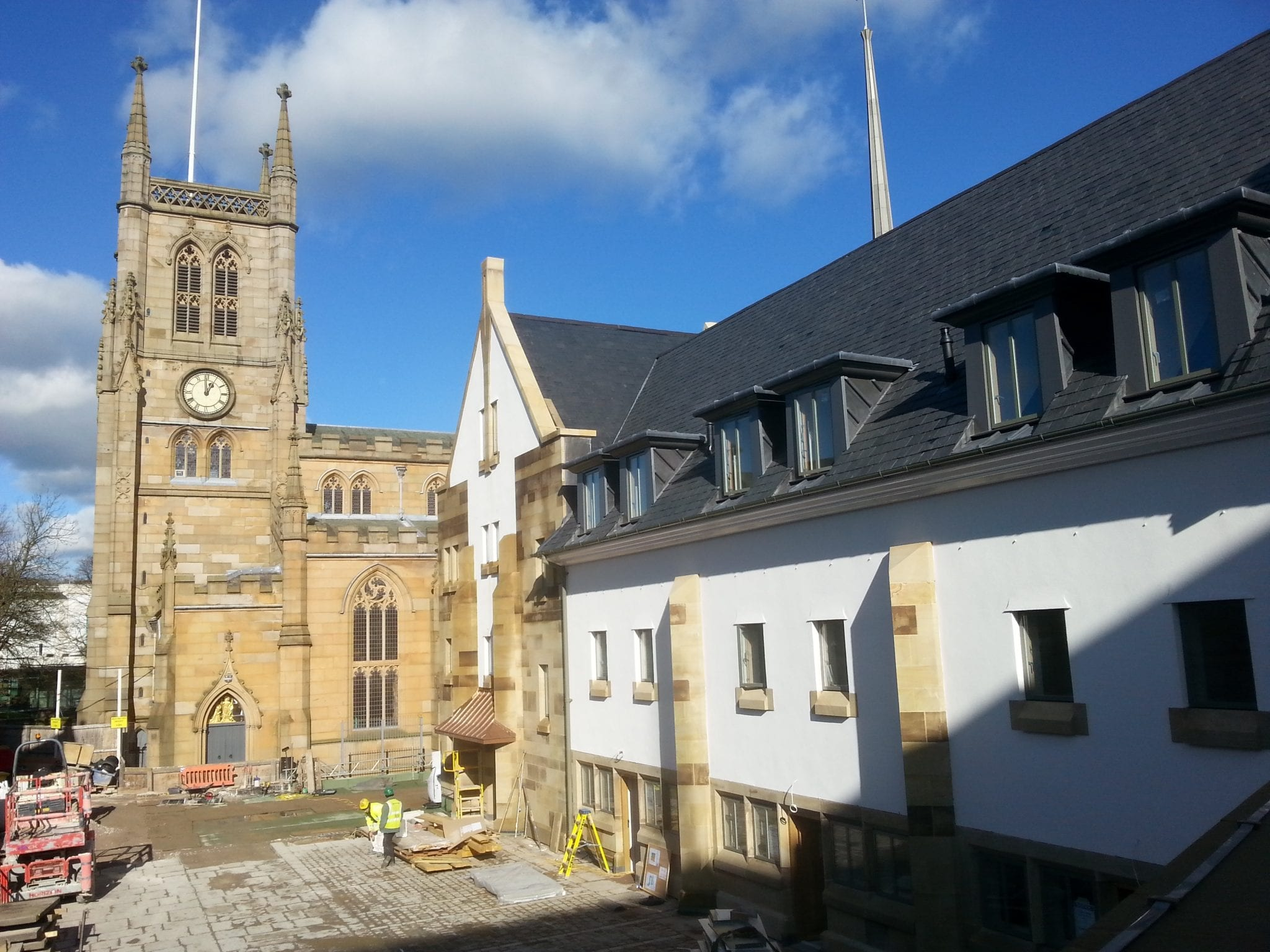Recent Project – Completed – April 2016 – Blackburn Cathedral