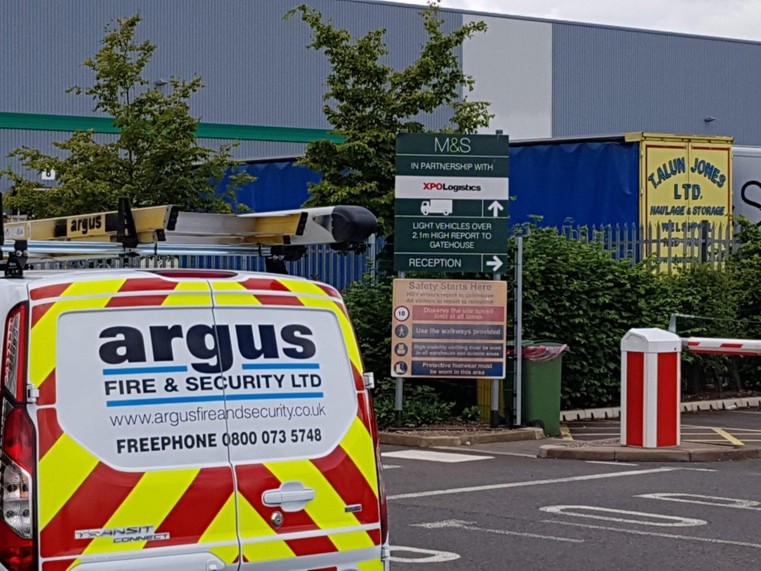 Business Alarm Installation Preston